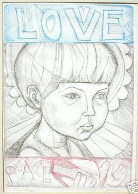 """Love and Peace"" Editon of 200 eBay 9/2006 7714leslie"
