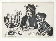 "Chanukah Edition of 200 10 1/4"" x 15"" eBay dumoart  3/5"