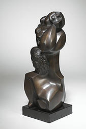 Untitled, 1950, 15.2 x 5.2 in. / 38.7 x 13.3 cm, Bronze with Patina