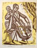 "The cellist 12"" x 10"" edition of 250 eBay 1/12/04 queenbee1017"